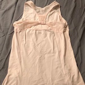 Calia by Carrie Underwood Light Pink Tank Large.